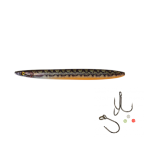 Savage Gear Line Thru Sandeel Eel Pout Collection 12,5cm - 19gr Eel Pout - Gennemløber
