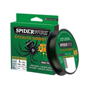 Spiderwire Stealth Smooth x12 Grøn Påspoling