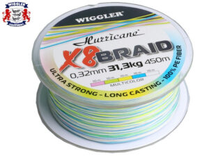 Wiggler Hurricane X8 Braid