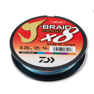 Daiwa J-Braid Grand Multicolor 300m
