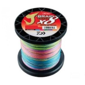 Daiwa J-Braid Grand Multicolor Påspoling
