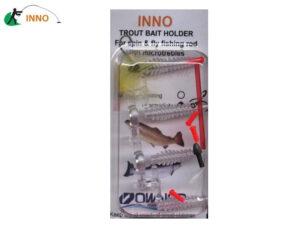 INNO Trout Bait Holder System - Transparent Intermediate