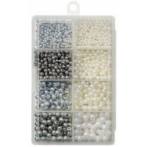 Kinetic Pearl Beads Kit Pearl Silver