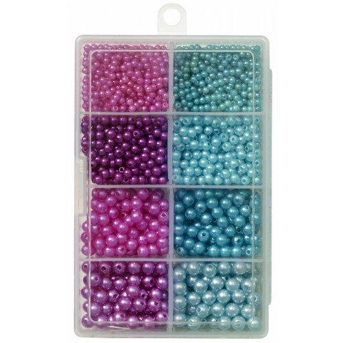 Kinetic Pearl Beads Kit Purple/Light Blue