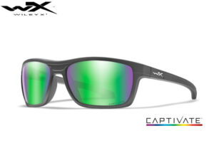 Wiley X KINGPIN Captivate Green Mirror Matte Graphite Frame