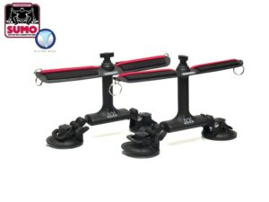 Sumo Suction Mount Rod Carrier