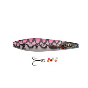 Savage Gear Line Thru Seeker Eel Pout Collection 7cm - 13gr Pink Pout - Gennemløber
