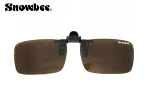 Snowbee Clip-On solbrille (polaroid) Amber