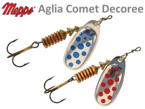 Mepps Aglia Comet Decoree