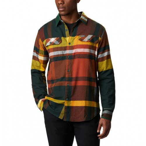 Columbia Flare Gun™ Stretch Flannel Spruce Big Check