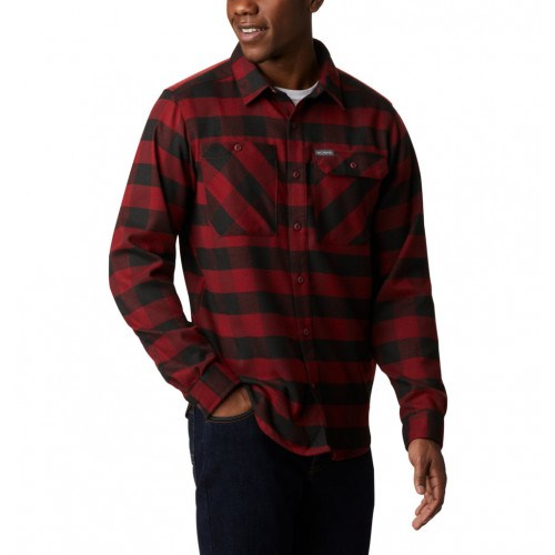 Columbia Outdoor Elements™ Stretch Flannel Rød/Sort