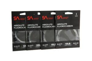 Absolute fluorocarbon 12' lakse- og havørredforfang