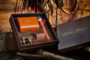 Abu ambassadeur leather edition