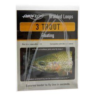 Airflo braided trout loops - løkker til flueliner