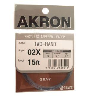 Akron 15' salmon leader