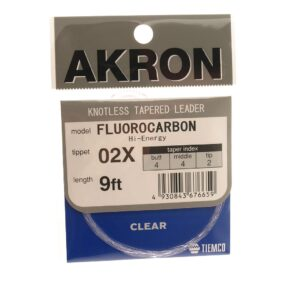 Akron fluocarbon forfang 9'