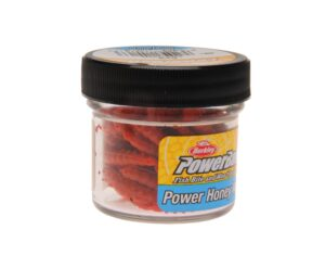 Berkley powerbait honey worms red