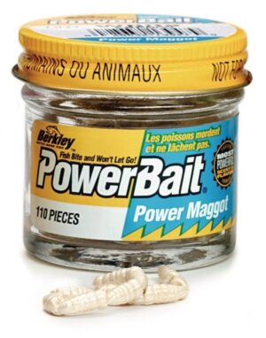 Berkley powerbait micro power maggot white