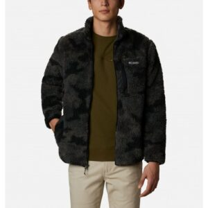 Columbia Winter Pass™ Print Fleece Full Zip Black Camo