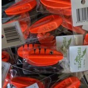 Fishnote Tasty 8 Gr Orange - Gennemløber