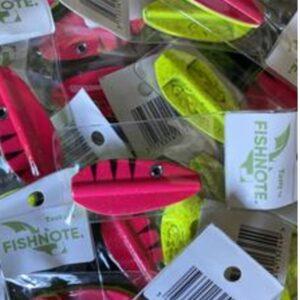 Fishnote Tasty 8 Gr Pink/yellow - Gennemløber