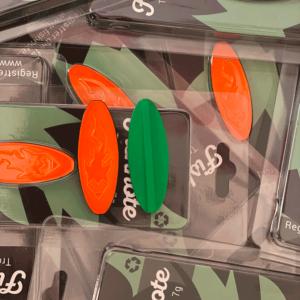 Fishnote Trout Lure 7 Gr Grøn/orange - Gennemløber