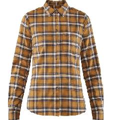 Fjällräven Övik flannel shirt acorn