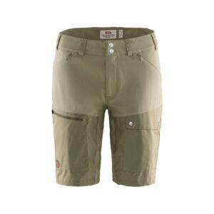 Fjällräven abisko midsummer shorts w savanna - light olive