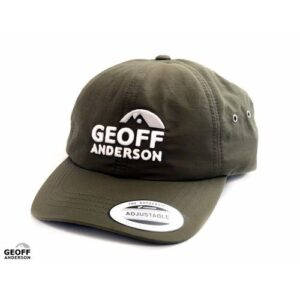 Geoff Anderson Adjustable Cap Grøn