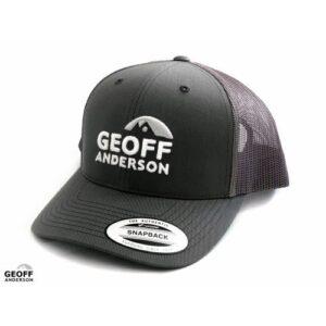 Geoff Anderson Snapback Trucker Grå