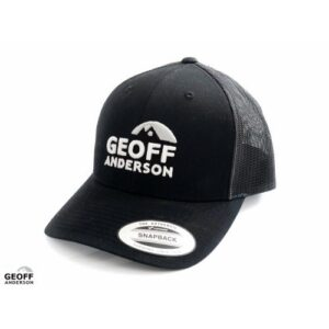 Geoff Anderson Snapback Trucker Sort