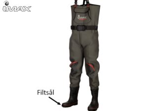 IMAX Challenge Neoprene Chest Waders - Felt sole-42/43