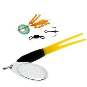 Karlk flying condom gennemløb sort/gul sølv