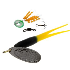 Karlk flying condom gennemløb sort/gul sort