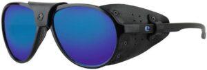 Lenz optics spotter - mat black gun blue mirror