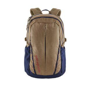 Patagonia refugio backpack 28l mojave khaki w/ classic blue
