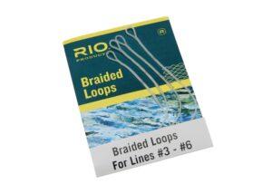 Rio braided loops - løkker til flueliner