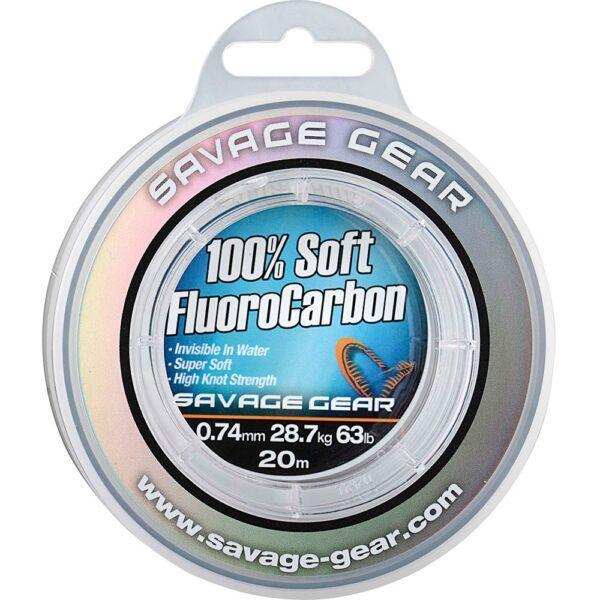 Savage Gear Soft Fluoro Carbon 0,30mm - Fluorocarbon