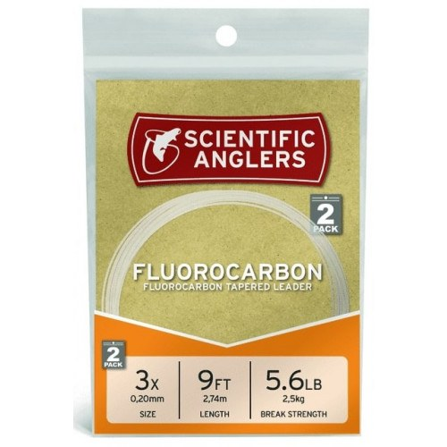 Scientific Anglers Fluorocarbon Leader 9'