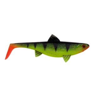 Senshu Real Fin Shad 8cm Shiny Tiger - Softbait