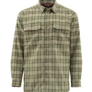 Simms coldweather shirt covert plaid