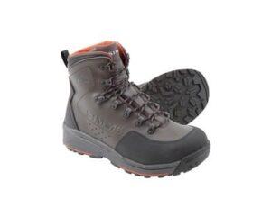 Simms freestone wading boots - rubber soles