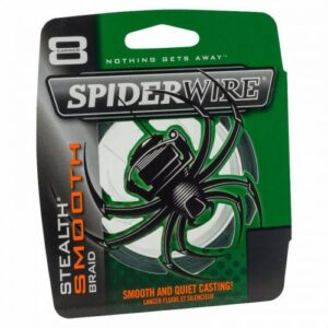 Spiderwire Stealth Smooth 8 Grøn 3000m