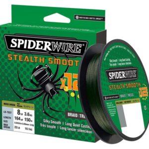 Spiderwire stealth smooth 12 green 150m
