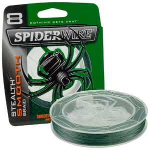 Spiderwire stealth smooth 8 grøn - 150 meter