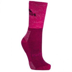 Trespass leader women's trekking sokker pink