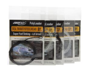 Vælg 5 seatrout/steelhead polyleaders i 8' og spar 20%