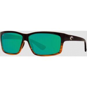 Costa Cut 580P Coconut Fade/Green Mirror