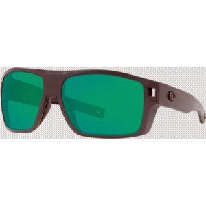 Costa Diego 580P Matte Grey/Green Mirror