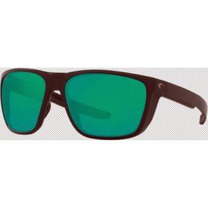 Costa Ferg 580P Matte Black/Green Mirror
